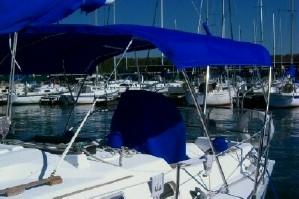 Bimini Top on Boat