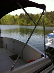 Stainless Steel Bimini Top Support Poles