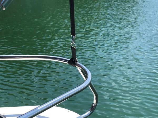 D-Ring Strap on Boat