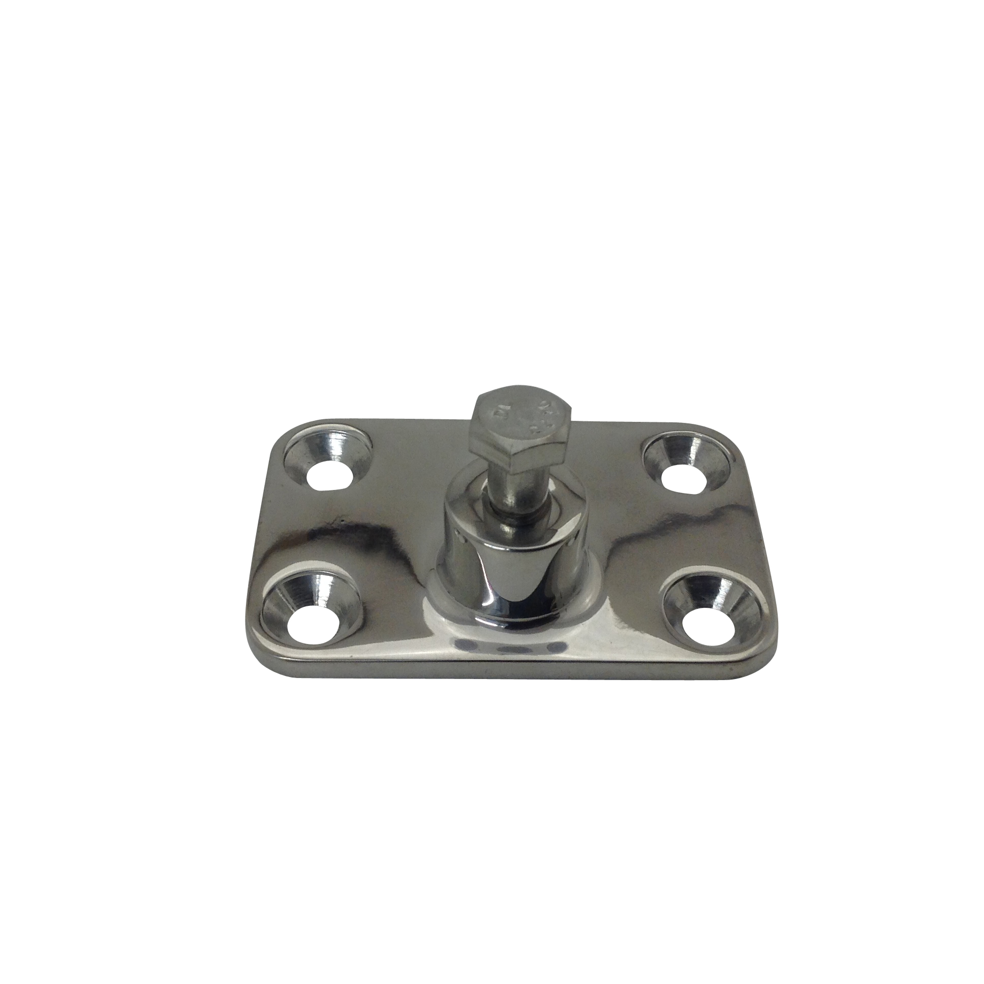 Stainless Steel 4 Hole Bimini Side Mount
