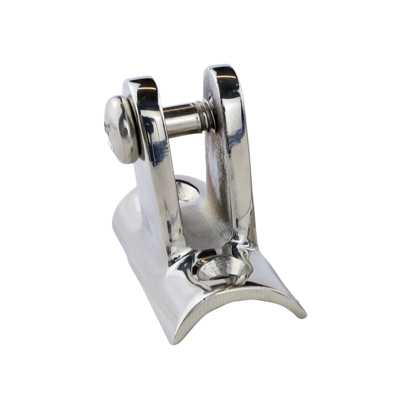 stainless steel concave deck hinge