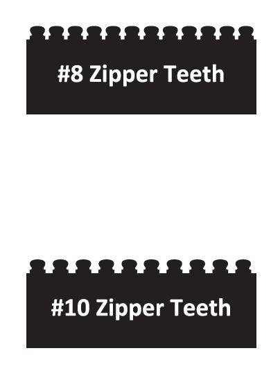 Zipper Teeth Photo