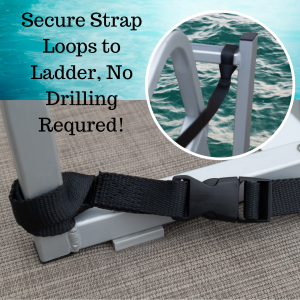 Ladder Pull Up Quick Release Strap