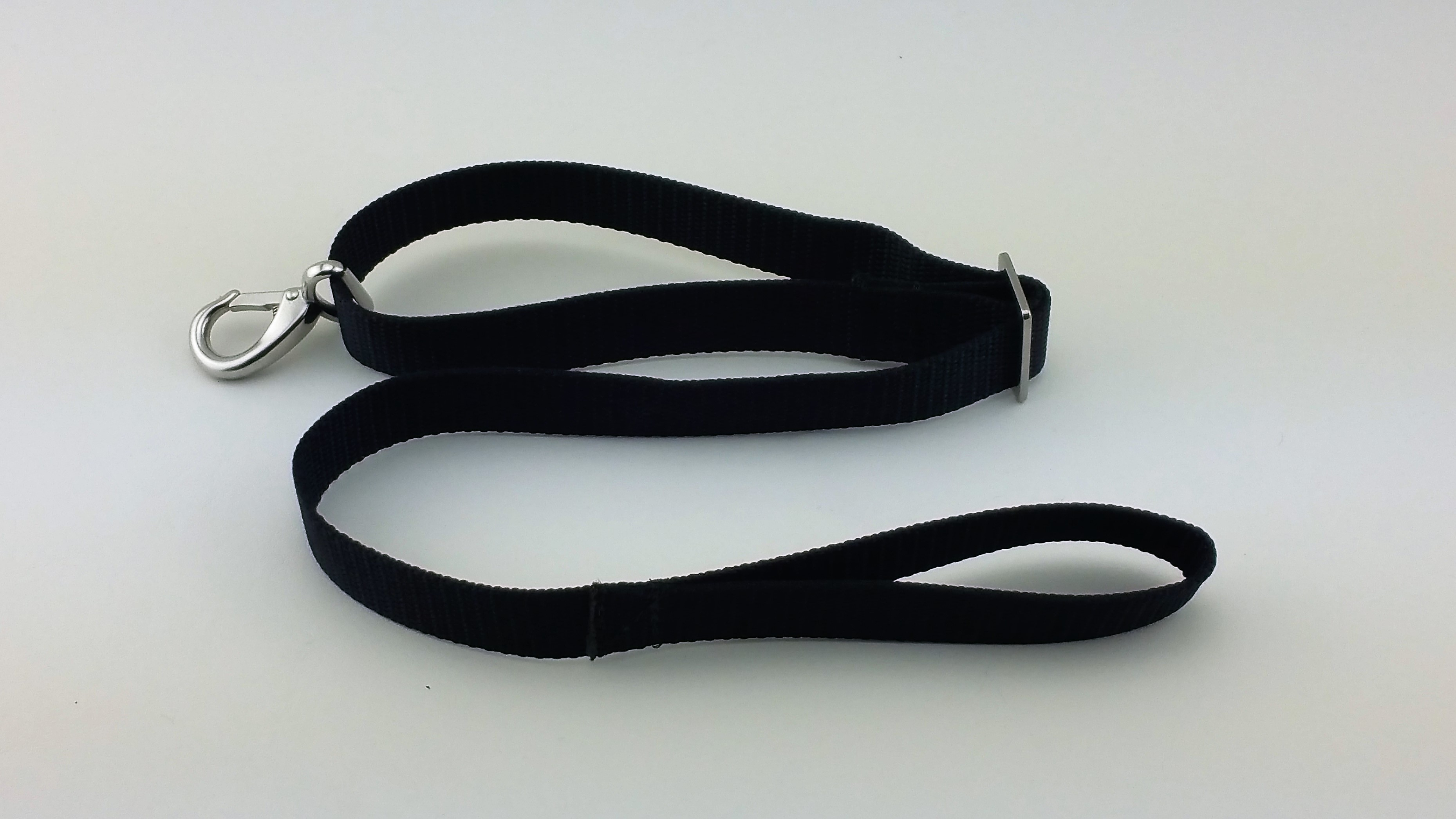 Heavy duty single snap hook bimini top strap