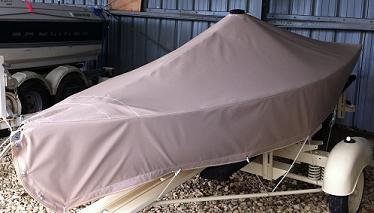 Boat Cover with Vent