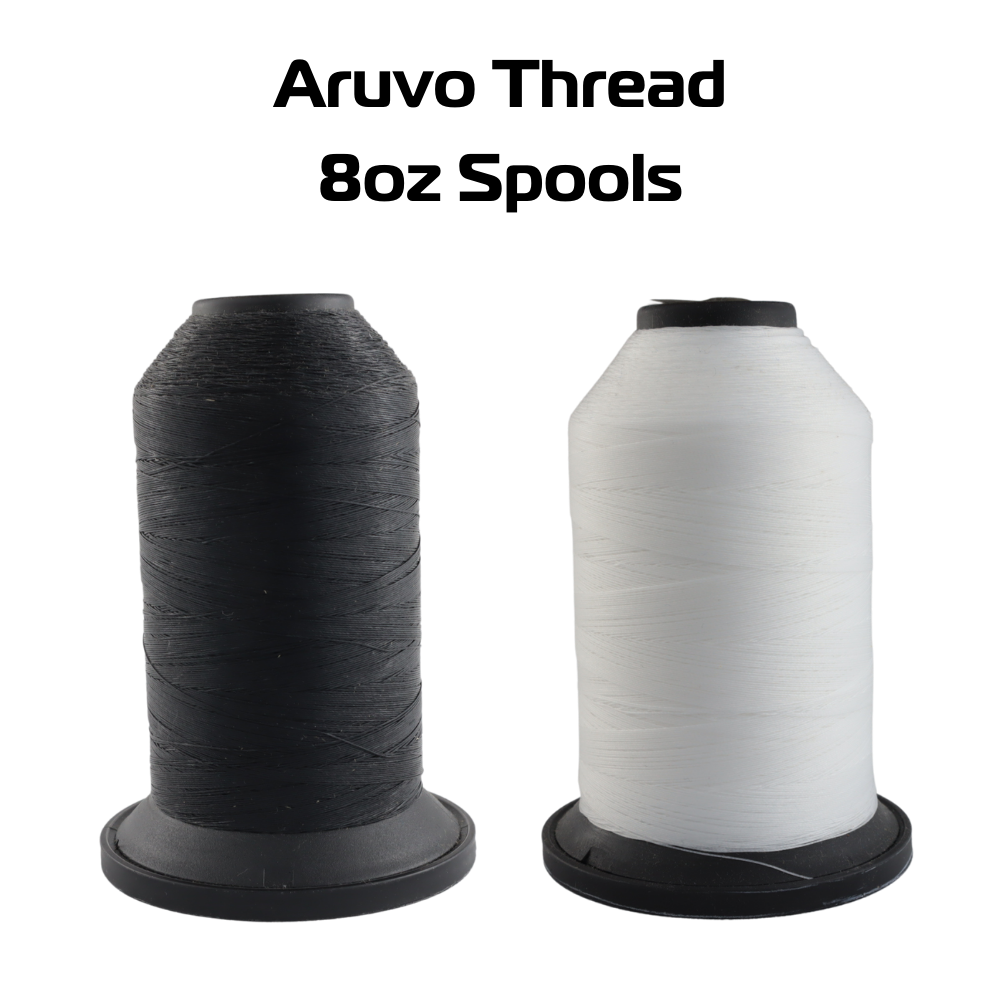 Aruvo PTFE Thread 8 oz Black & White