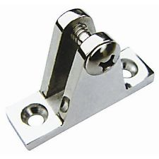 stainless steel deck hinge with screw