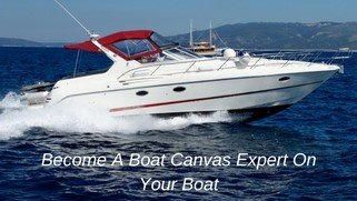 Solve your own boat canvas repair problems