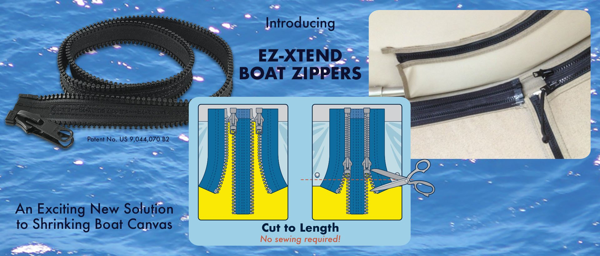EZ-Xtend Boat Zipper Demo Photo