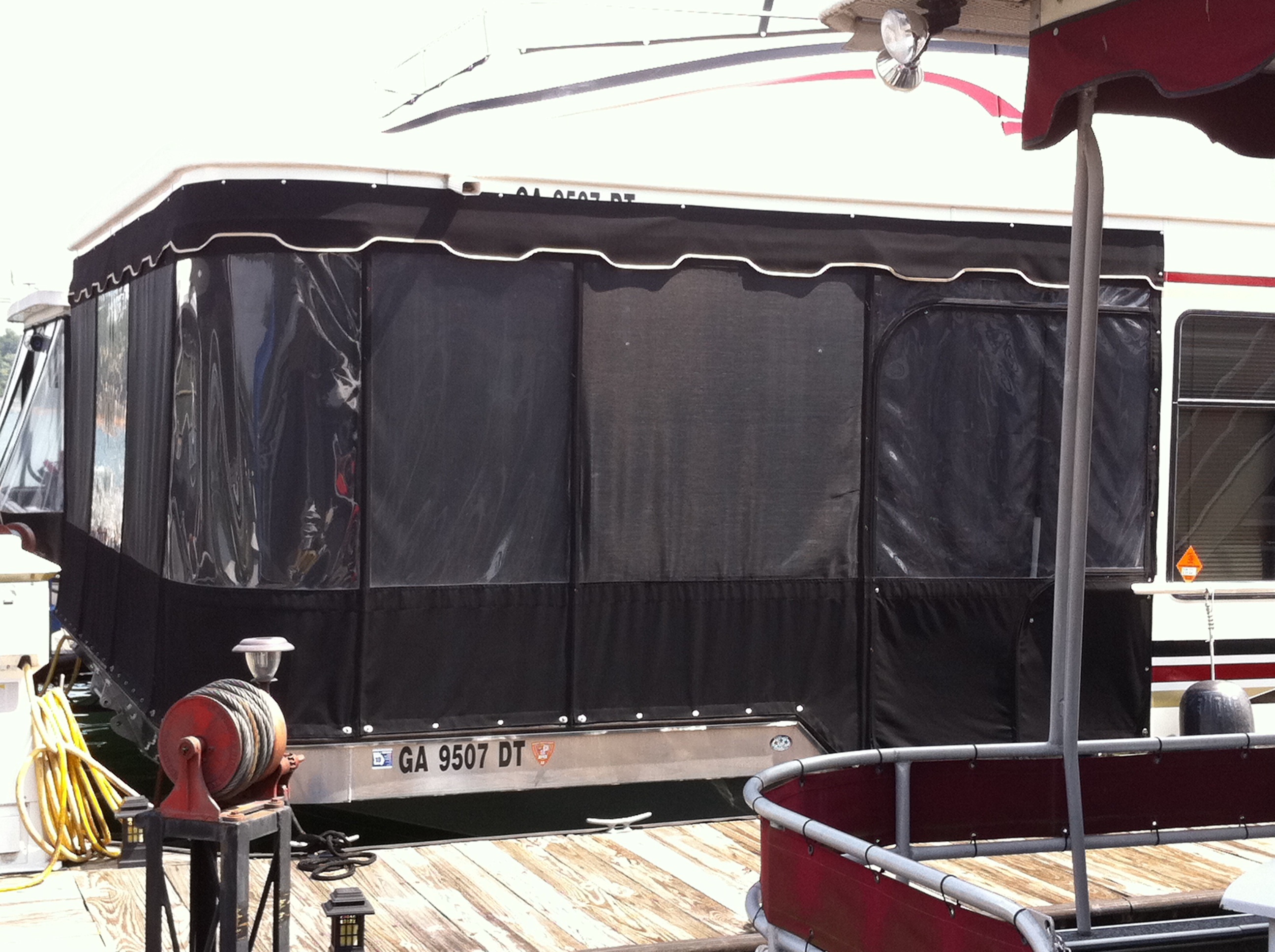 Houseboat Enclosure
