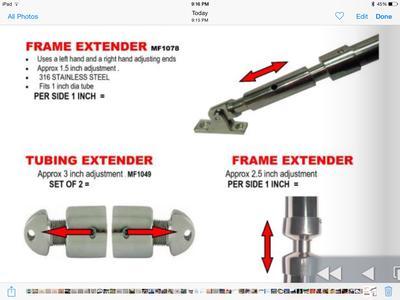 Frame extender
