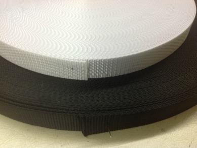 Heavy duty polyester webbing