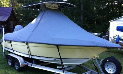 Weathermax 80 T-top Boat Cover